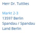 Orthopädische Praxis Berlin